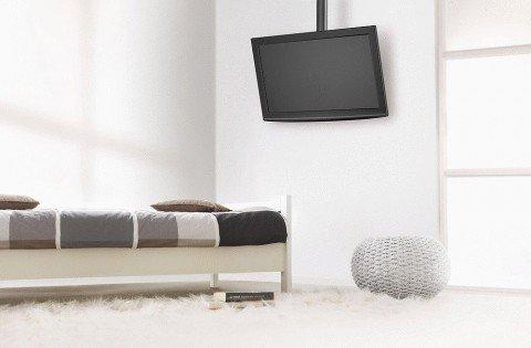 TV Deckenhalterungen - wenn die Wand nicht infrage kommt oder zum TV aufgesehen werden soll